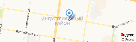 MY FRIENDS на карте Барнаула