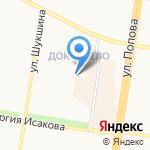 Барнаульский кадетский корпус на карте Барнаула