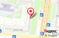 Схема проезда до компании Тройка в Барнауле