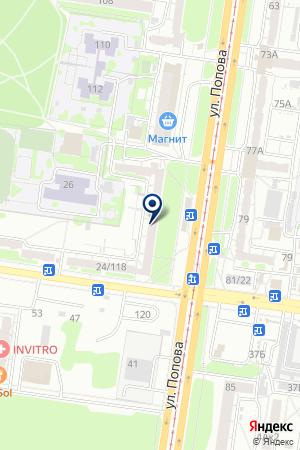 АПТЕКА АЛТФАРМ на карте Барнаула