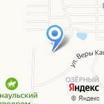 Провиант на карте Барнаула