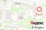 Схема проезда до компании КузнецовMotors в Барнауле
