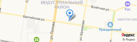 Фото мир на карте Барнаула