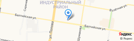 Сто одежек на карте Барнаула