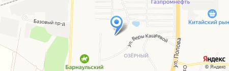 Пчёлка на карте Барнаула