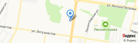 Энтузиаст на карте Барнаула