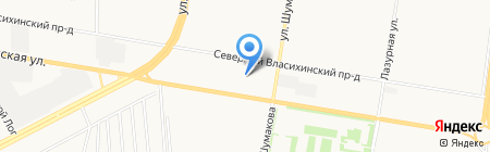 АВТОритет на карте Барнаула