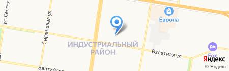 Любимый на карте Барнаула