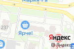 Схема проезда до компании Жасмин в Барнауле