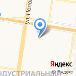 Детский сад №242 на карте Барнаула
