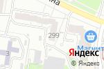 Схема проезда до компании ЭЛЛИПС в Барнауле