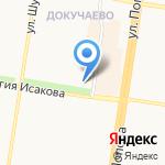 Лариса на карте Барнаула