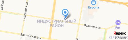 Мыловарилка на карте Барнаула