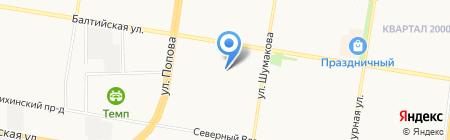 Книги на карте Барнаула