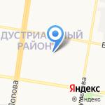 BABYиК на карте Барнаула