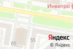 Схема проезда до компании Розана в Барнауле