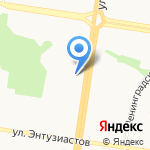 New style на карте Барнаула