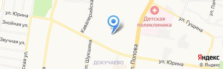 Барнаульский специальный коррекционный детский дом №7 для детей с ограниченными возможностями здоровья на карте Барнаула
