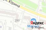 Схема проезда до компании Комфортсервис в Барнауле