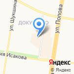 Классик на карте Барнаула