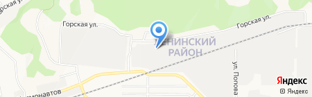 АВЕЛЮМЕН на карте Барнаула