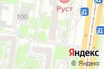 Схема проезда до компании RUDI.PRO в Барнауле
