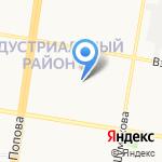 Фактор на карте Барнаула