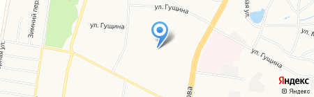 Гимназия №85 на карте Барнаула