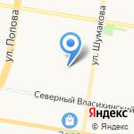 Под куполом на карте Барнаула