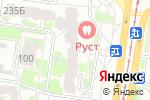 Схема проезда до компании Фаберлик в Барнауле