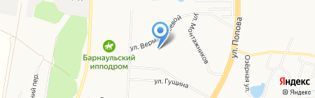 Детский сад №201 на карте Барнаула