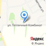 ДДД на карте Барнаула