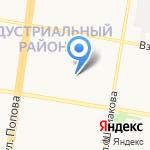 Центр правовой помощи на карте Барнаула