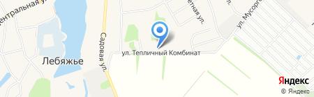 ФАНЕ-РА на карте Барнаула