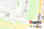 Схема проезда до компании Дизавио в Барнауле