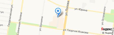 ИнВино на карте Барнаула