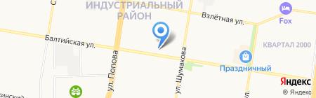Кинза и Мята на карте Барнаула