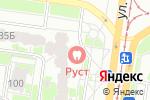 Схема проезда до компании Руст в Барнауле