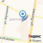 Раум на карте Барнаула