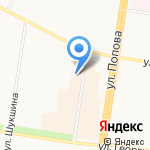 Изумруд на карте Барнаула