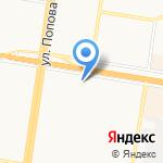 Образ на карте Барнаула
