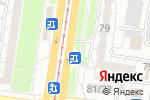 Схема проезда до компании Молочная сказка в Барнауле
