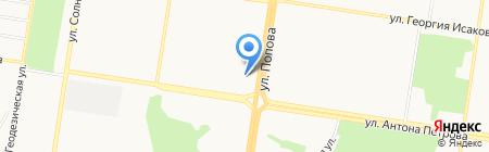 Благоустройство на карте Барнаула