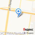 Светлица на карте Барнаула