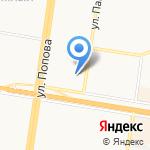 Новодент на карте Барнаула