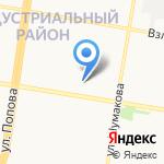 Малыш на карте Барнаула