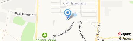 ЖЭУ №24 на карте Барнаула