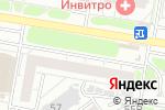 Схема проезда до компании Белая орхидея в Барнауле