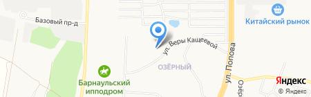 Аптека.ру на карте Барнаула