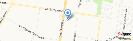Маргарита на карте Барнаула